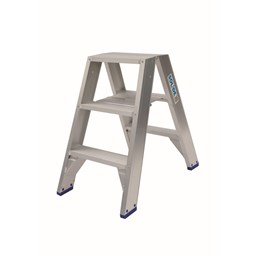 Dubbele trapladder